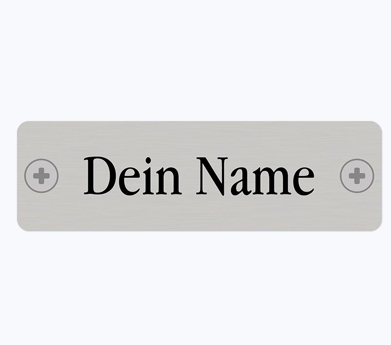 Namensschild An Der Blühwiese